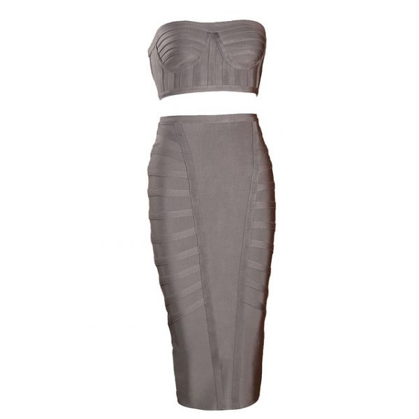 Two piece bandage set Nova taupe